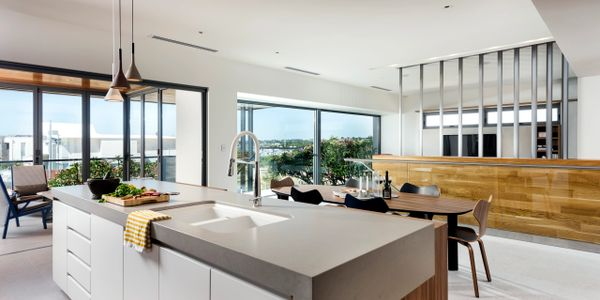 G2 Double Glazed Windows and Doors in Luxury Display Kitchen and Dining Perth
