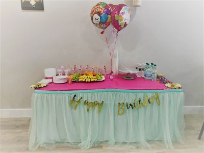 Birthday Party Display Table. Essential Package.