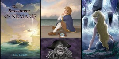 buccaneer mermaid adventure fantasy young adult novel pirates exploration explorer teenage story