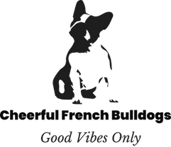 Cheerful French Bulldogs