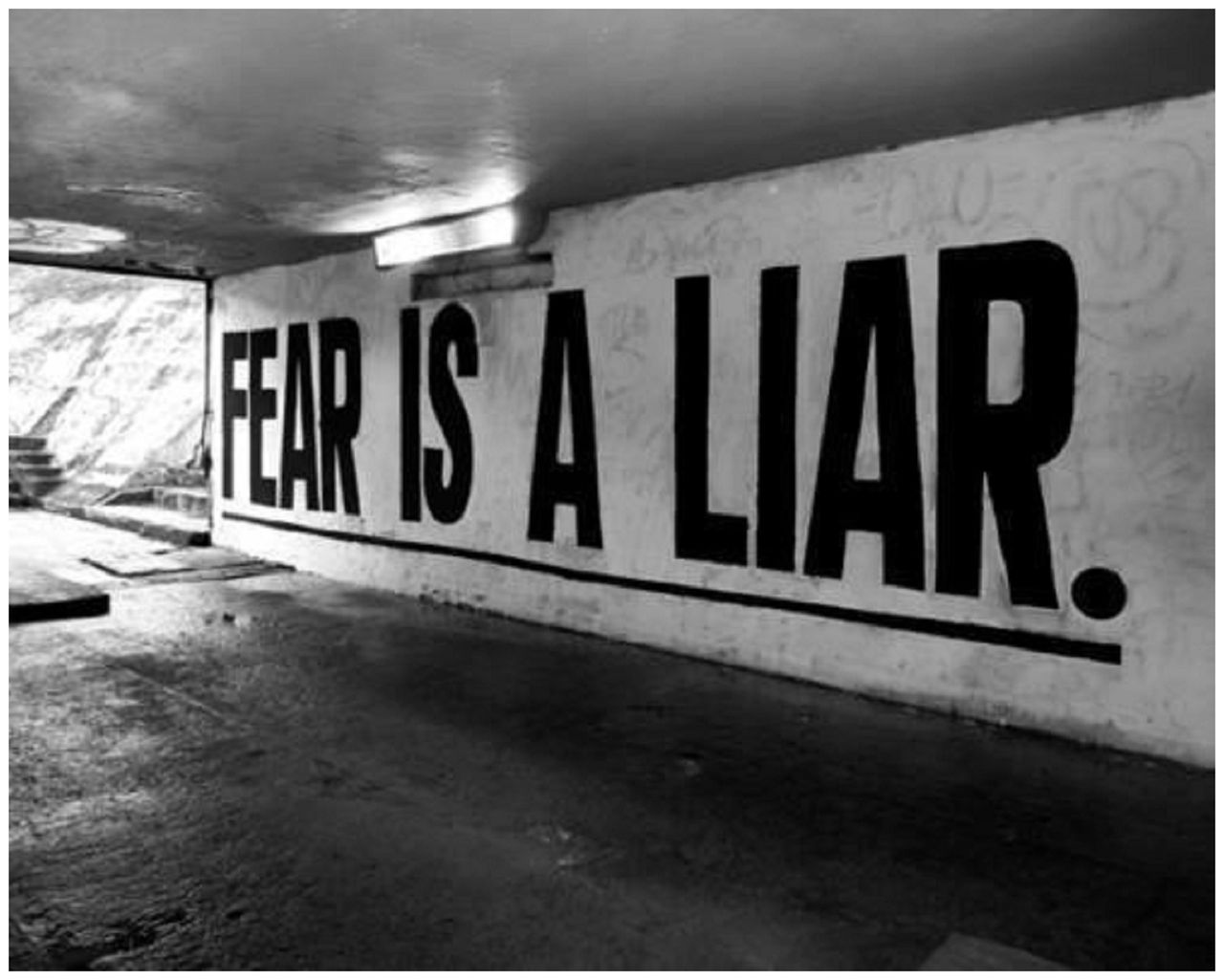 Don't get driven by fear