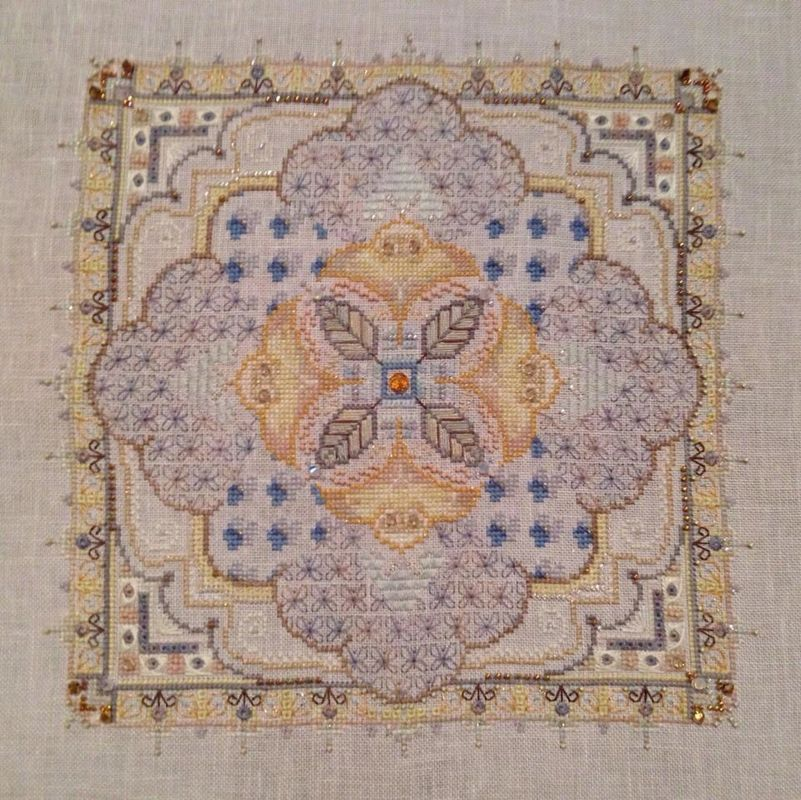 Elegant Embroidery 03 by Kate Nicks on Lavender Bliss Belfast