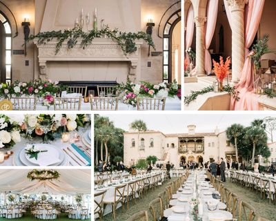 Crosley Estate weddings by the Sarasota Wedding Gallery with Milan Catering