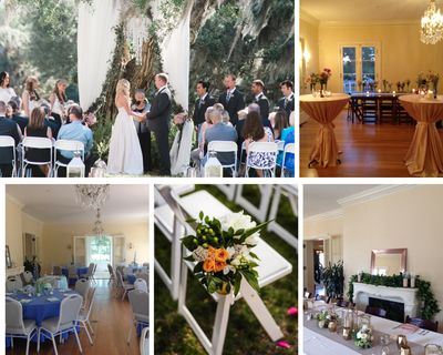 Phillippi Estate  weddings by Sarasota Wedding Gallery and Milan Catering