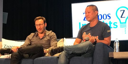 Simon Sinek and Tony Hsieh are two of the top Thought Leaders and Corporate Culture Games Changers