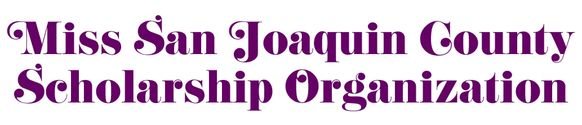 Miss San Joaquin County Scholarship Organization