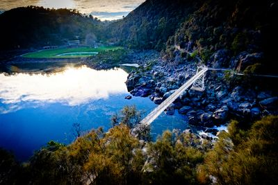 Walk across the Alexandra Bridge, Cataract Gorge, Launceston