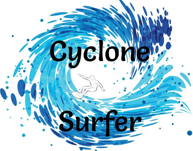 Cyclone Surfer surfing ride amusement ride