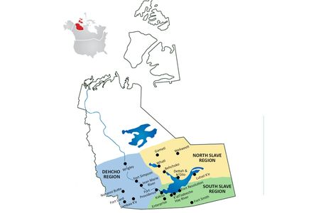 map of the Mackenzie Recreation region