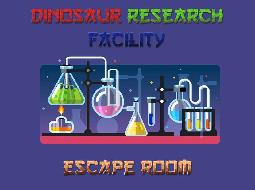 Dinosaur Research Facility Escape Room  Escape the Room, Puzzles, Clues, Hints and more. Shankz 3D
