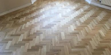 Solid Wooden Floor installation and Renovation of client property in North Wales.