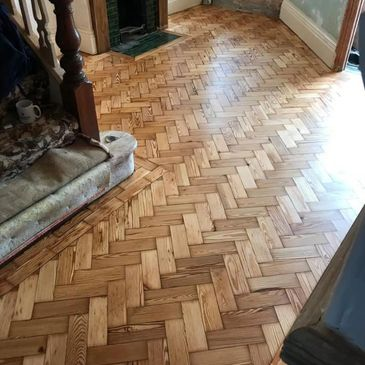 Parquet floor fitting and repair with Wood Floor Solutions NW