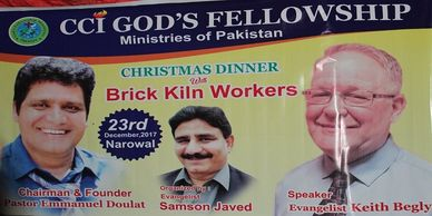 2017 brick slave outreach keith begly pakistan jesus gods fellowship ministries  emmanuel doulat