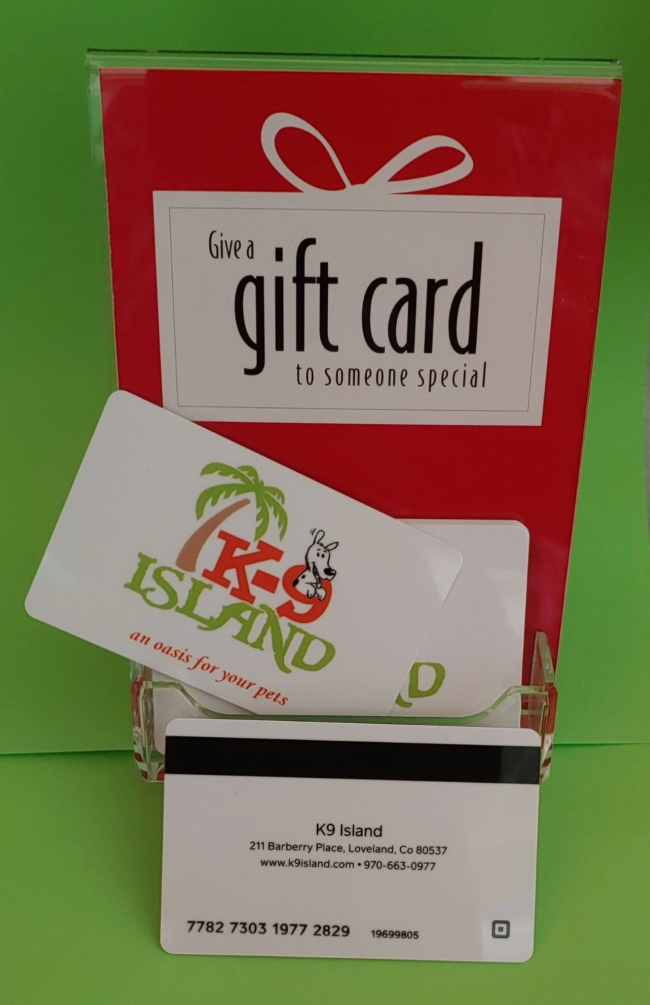 Giving a gift card is a perfect way to say thank you!  Trip planned, Birthday Any $ amount available