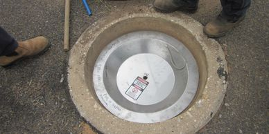 Cowra Rainstopper Manhole Insert  installation,simple,no special tools, your team can install RMIs