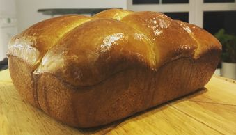 Brioche on a bread courses
