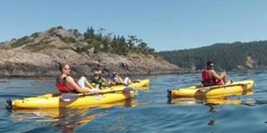 Guided kayak Tours SUP Bike Paddleboard Sooke Victoria Vancouver Island BC Canada