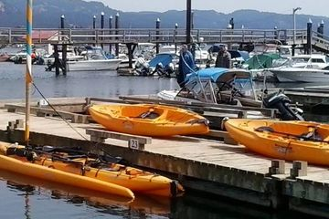 Hobie Kayaks Sooke Harbour resort and Marina rentals sales tours