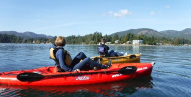 Explore Sooke Harbour and Basin with you own Hobie MirageDrive Kayak