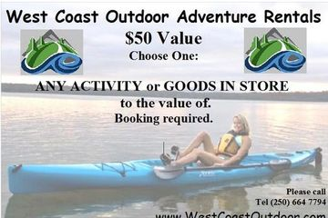 Sooke Adventure Gift certificates