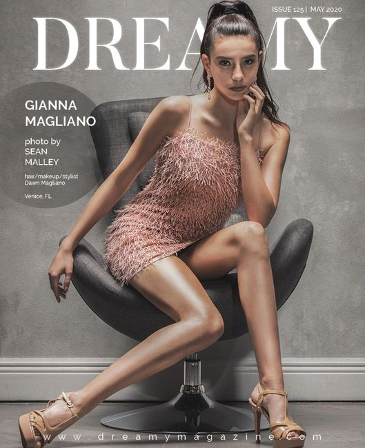 So excited to be on the cover of Dreamy Magazine with two additional photos inside.