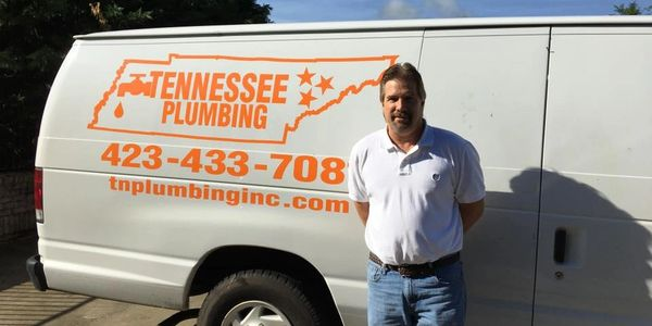 The owner of Tennessee Plumbing, Tim Shanks. With over thirty years of experience in plumbing.