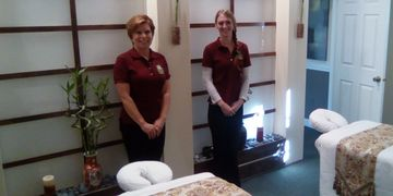 Anne and Nicole Massage Therapists