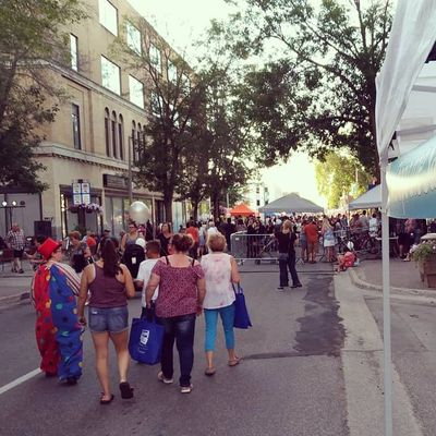 Summer Street Party and Fringe North on historic Downtown Queen Street