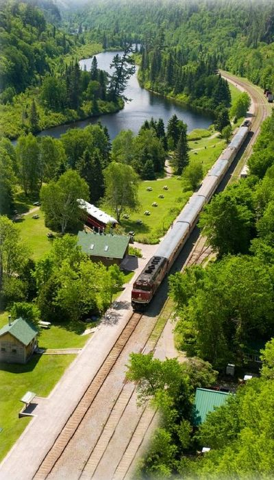 The Agawa Canyon