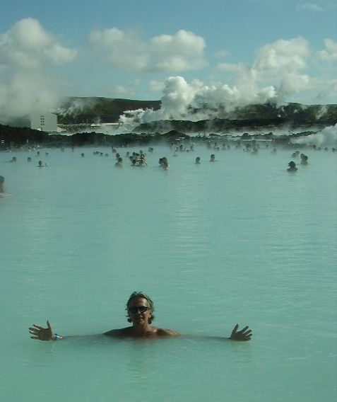 This is me in Reykjivik Iceland.