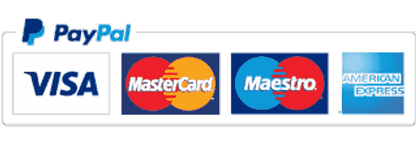 Pay by debit credit card PayPal bank transfer