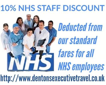 Swindon airport transfers cruise terminal docks NHS nurse doctor discount