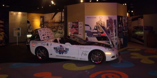 First Multi-Fueled Corvette in Automotive Hall of Fame
