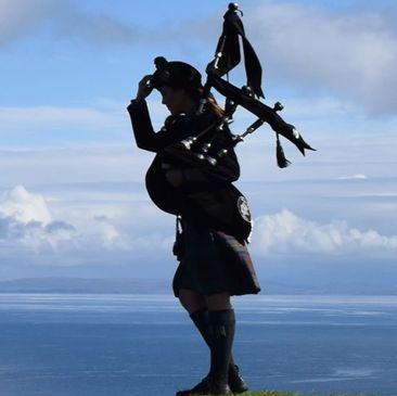Dark Isle Piper - Bagpiper, Music, Scottish Bagpiper