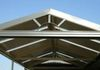 Gabled awning