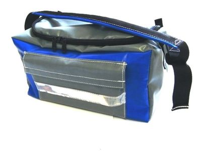 RBM MHA Kit Bag open showing inside with  three internal pockets