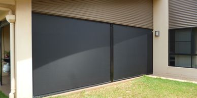 Mesh Ziptrack Blinds for your patio pergola or outdoor area