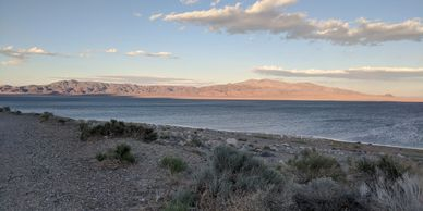 Boondocking at Walker Lake in Nevada. Photo by FiestainrSiestaRV.com