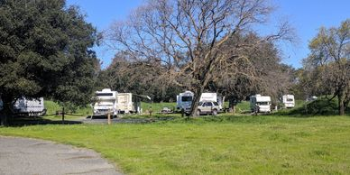 Olympic Loop campground at Brannan Island SRA, photo by Fiesta in r Siesta RV