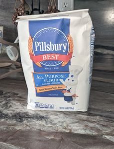 Flour is one of my staples I like to keep in my pantry. Photo by FiestainrSiestaRV.com