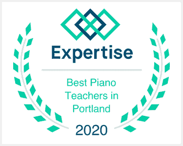 Award for best online piano lessons and in-person piano lessons in Clackamas or and Happy Valley OR.