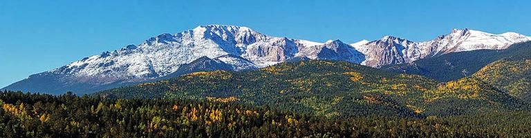 Pikes Peak Teller County Colorado real estate