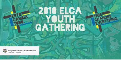 Poster for the 2018 youth gathering
