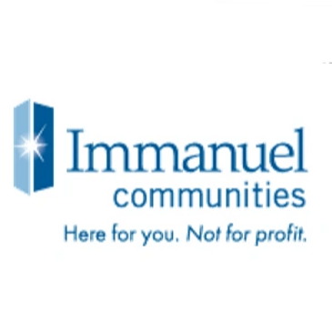 logo - Immanuel Communities  Here for you.  Not for profit.