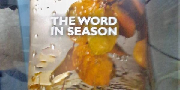 "Image of the devotion booklet called ""The Word in Season"""