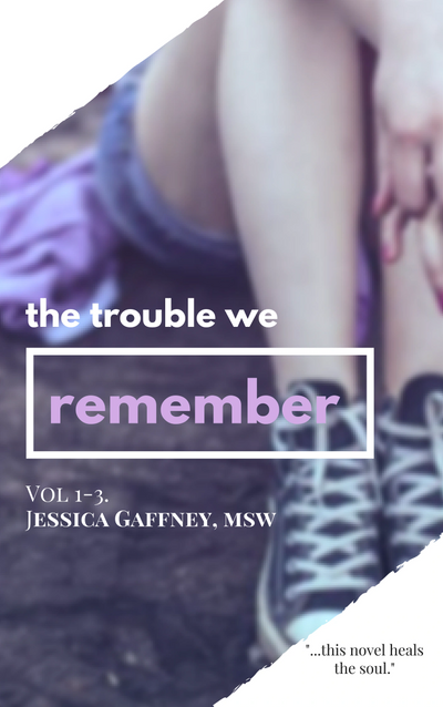 Teens novels by Jessica Gaffney, msw