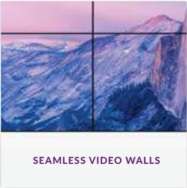 Video Wall Range | Digital Presence  TV