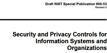 NIST SP 800-53, Revision 5 Cover