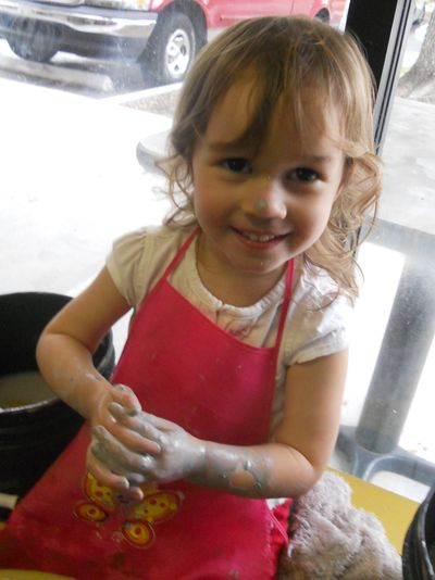 Pottery lessons for children and adults Tampa