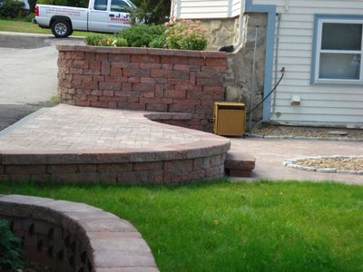 Stone Work Design from DeChambeau Landscaping in East Bridgewater and West Bridgewater, Massachusett